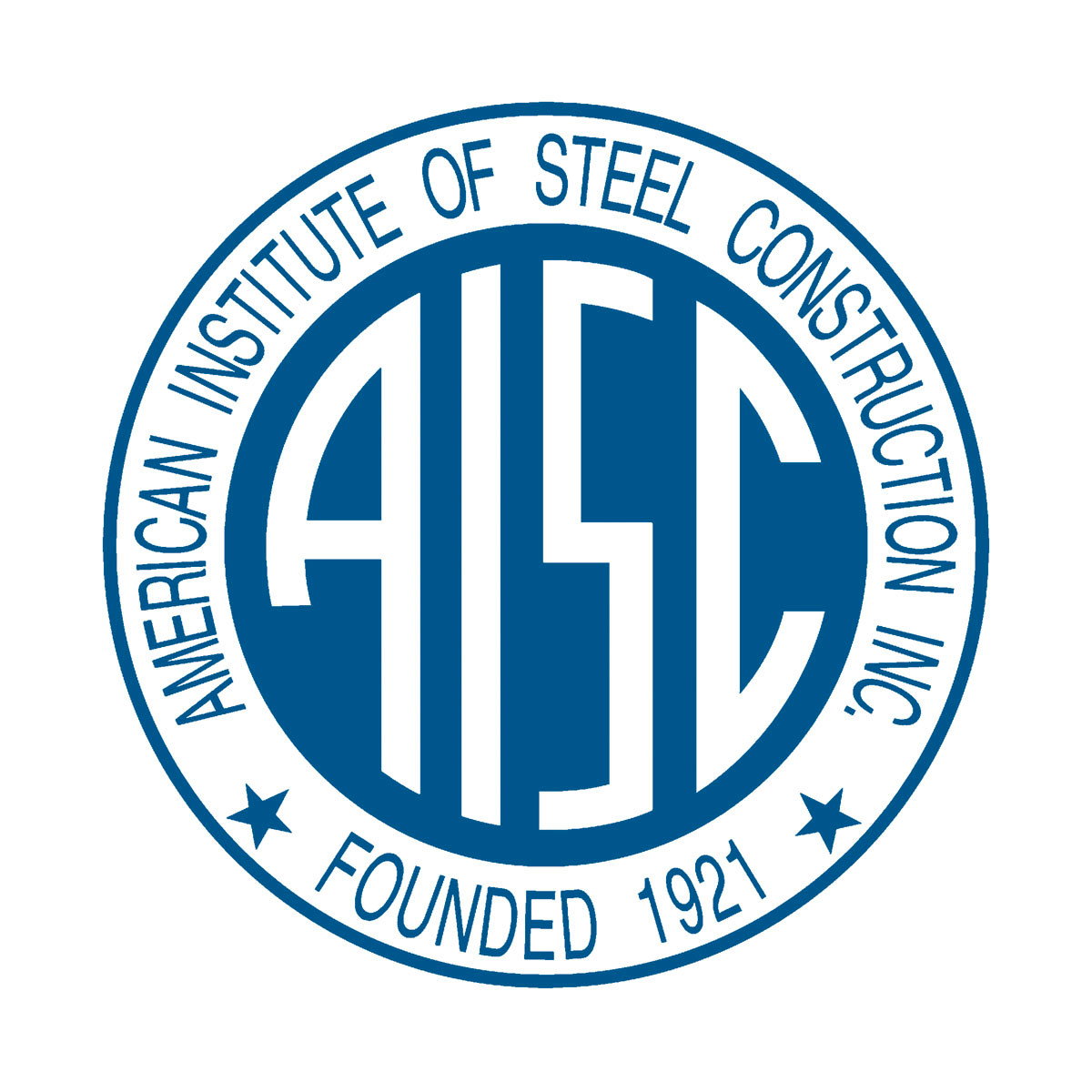 This is the first AISC Logo.